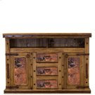 Natural Copper TV/Dresser W/Doors Product Image