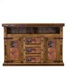 Natural Copper TV/Dresser W/Doors Product Image