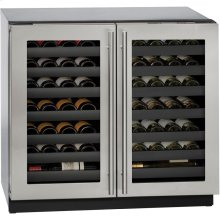 "36"" 3000 Series Wine Captain, Double Door"