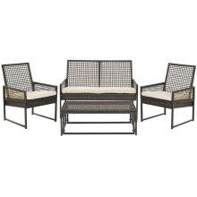 Shawmont Outdoor Set - Brown / Beige