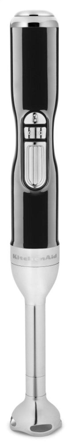 Pro Line® Series 5-Speed Cordless Hand Blender - Onyx Black