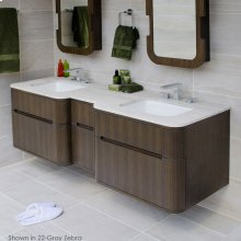 Quartz countertop for vanity H275.