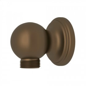English Bronze Perrin & Rowe Wall Outlet For Handshower