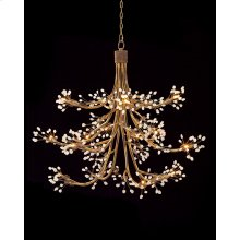 Sixteen-Light Halogen Chandelier