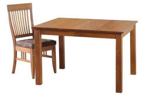 "30""x 40"" Block Leg Table"