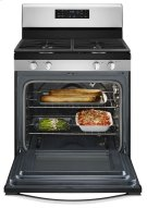 5.0 cu. ft. Front Control Gas Range with Fan Convection Cooking Product Image