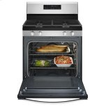 Whirlpool5.0 cu. ft. Front Control Gas Range with Fan Convection Cooking