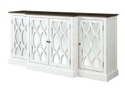 """Mountain Retreat - 78"""" Cabinet W/mirror Accent Product Image"""