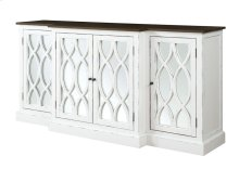 "Mountain Retreat - 78"" Cabinet W/mirror Accent"