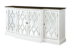 "Mountain Retreat - 78"" Cabinet W/mirror Accent Product Image"