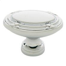 Polished Chrome Oval Edinburgh Knob