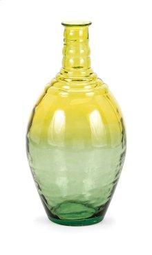 Aloha Wide Oversized Recycled Glass Vase