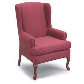 8000DC Wing Back Chair - Acorn