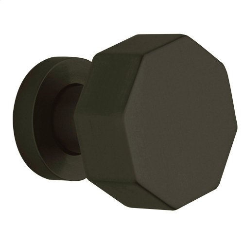 Satin Black 5073 Estate Knob