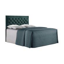 Emerald Home Full 4/6 Upholstered Headboard Emerald Green #501 B219-09hb-08