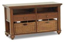 839-826 STBL Treasures Brown Sofa Table