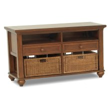 839-826 STBL Treasures Brown Sofa Table