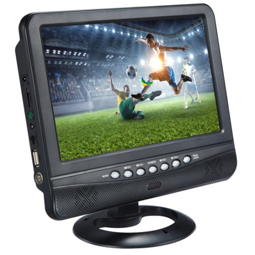 "9"" Rechargeable LCD TV"