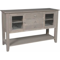 Server in Taupe Gray Product Image