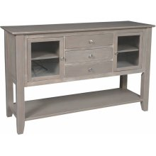 Server in Taupe Gray