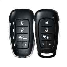 Two-Way LED Command Confirming Remote Start & Keyless Entry System