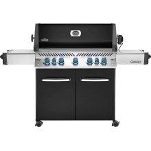Prestige 665 RSIB Infrared Side & Rear Burners , Black , Natural Gas