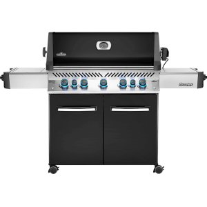 Napoleon GrillsPrestige® 665 RSIB Infrared Side & Rear Burners , Black , Natural Gas