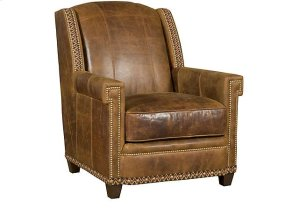 Mustang Leather Chair, Mustang Leather Ottoman