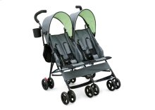 LX Side by Side Stroller - Lime \u0026 Grey (013)
