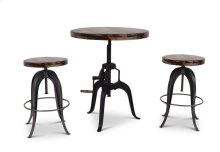 "Sparrow Round Setup Stool 16"" x 16""x 25.5""-32""H [1pc/ctn]"