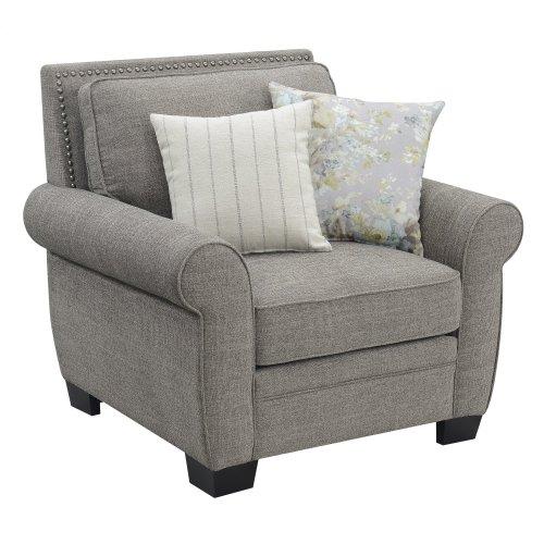 Emerald Home U3488-02-05 Brookmonte Accent Chair, Rustic Tan