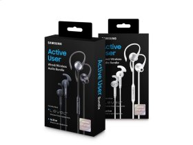 Level Active + In-Ear Headphones, White