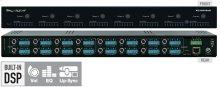 8x8 Audio Matrix Switcher with built-in Audio DSP