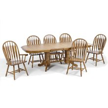 Classic Oak Chestnut Dining Room Furniture