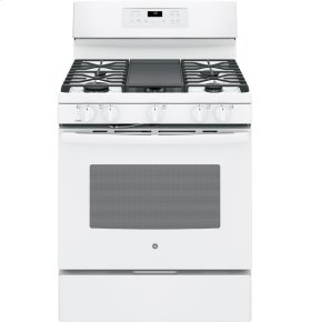"""SCRATCH & DENT- GE® 30"""" Free-Standing Gas Convection Range"""