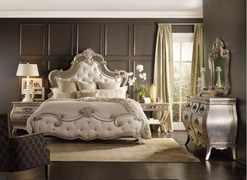 Sanctuary King Upholstered Bed
