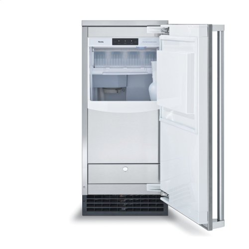 "15"" Clear Ice Machine with Drain Pump"