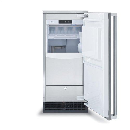 "15"" Clear Ice Machine with Drain Pump"