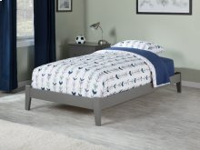 Concord Twin Bed in Atlantic Grey