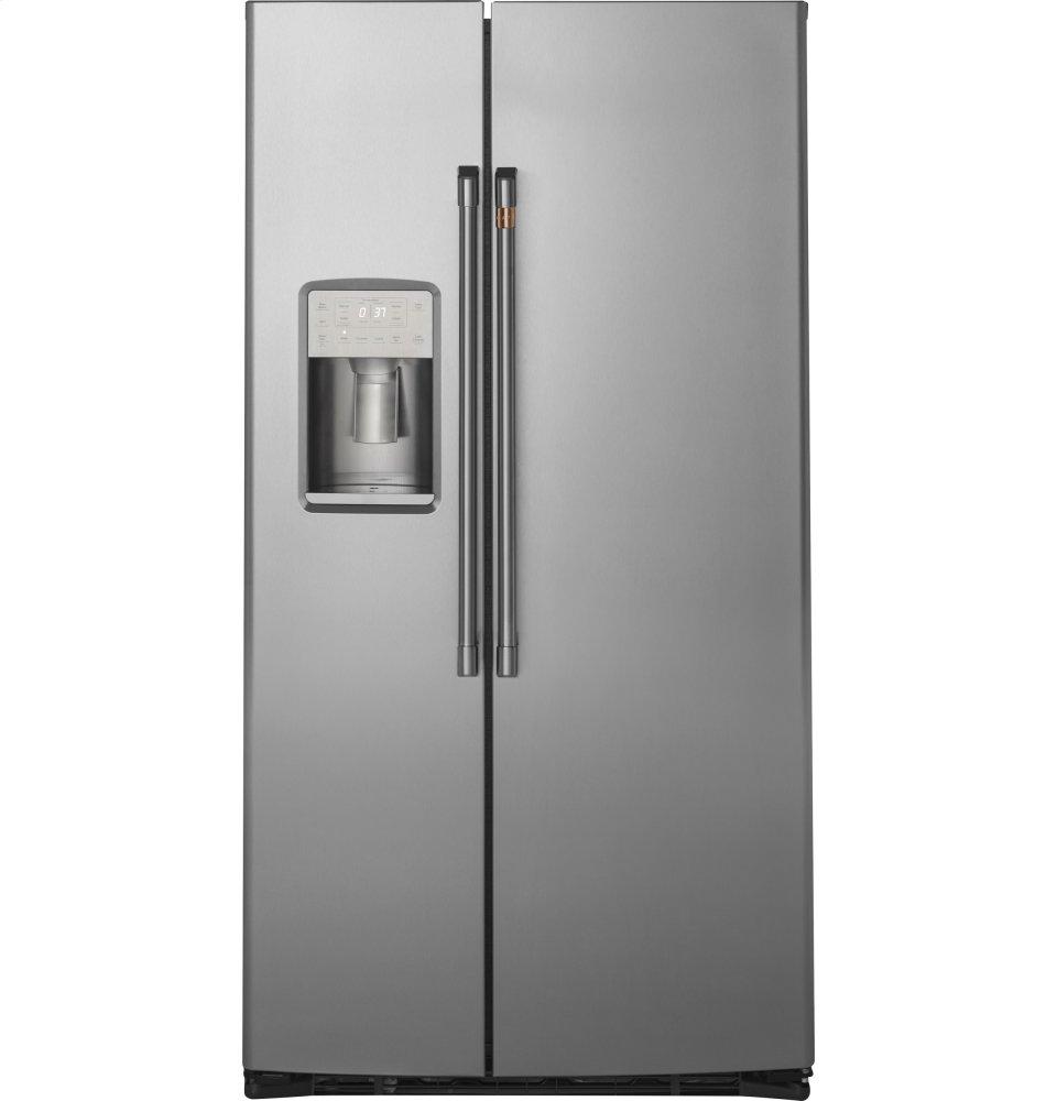 Cafe Appliances21.9 Cu. Ft. Counter-Depth Side-By-Side Refrigerator