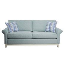Sofa, 5'' Plinth Base Available in Grey Wash, Cottage White, Royal oak, Black Teak, White Teak or Vintage Smoke finish.