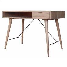 Franco Desk 1 Drawer, Gray Wash