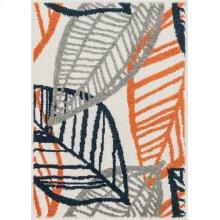 Ivory / Orange Rug