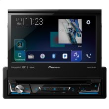"1-DIN Multimedia DVD Receiver with 7"" WVGA Display, Apple CarPlay , Android Auto , Built-in Bluetooth®, SiriusXM-Ready and AppRadio Mode +"