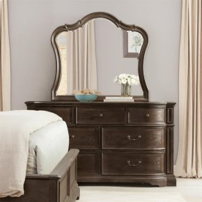 Mirror - Dark Sienna Finish