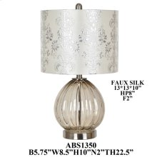 "22.5""TH TABLE LAMP, 2 PCS PK, 2.72'"