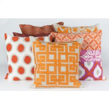 """Solid Pleated HH-026 18"""" x 18"""" Pillow Shell Only"""