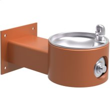 Elkay Outdoor Fountain Wall Mount Non-Filtered, Non-Refrigerated Freeze Resistant Terracotta