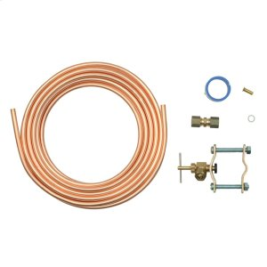 Copper Refrigerator Water Supply Kit -