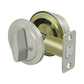 Single Cylinder Deadbolt, Grade 2, KA2, Heavy Duty - Brushed Nickel